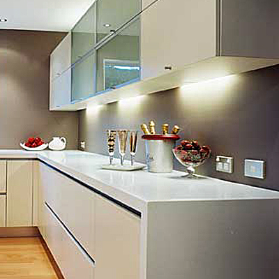 Corian Kitchen Counters on Stylish  Less Expensive Kitchen Countertops