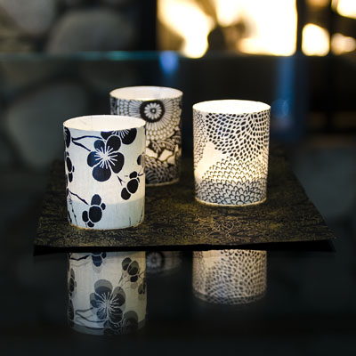 How to make gorgeous votive candle holders for Homemade votive candles