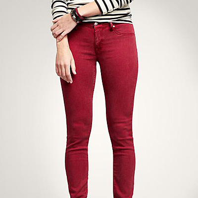 Seeing Red Jeans Everywhere
